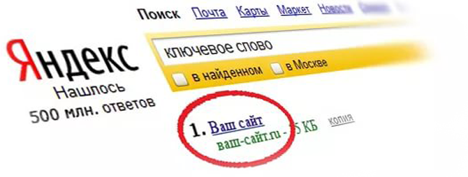 Вывод сайтов в топ создание сайта интернет магазина цены спб